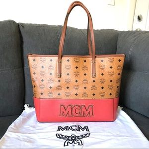 MCM Visetos Tote •LIMITED EDITION•